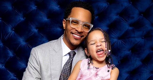 Tiny's Daughter Heiress Slays in a Pink Dress as She Enjoys the Perfect Date with Her Dad TI
