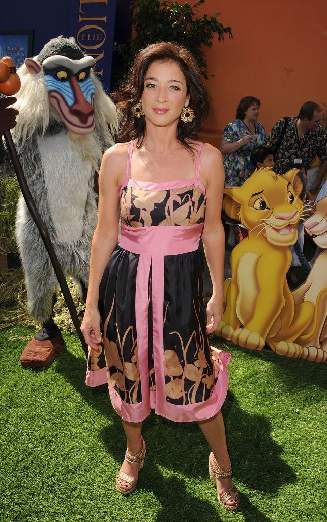 Moira Kelly le 27 août 2011 à Los Angeles. l Source : Getty Images