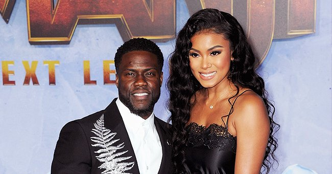Watch Kevin Hart's Pregnant Wife Eniko Stay Fit Using Dumbbells & Barbell during a Workout