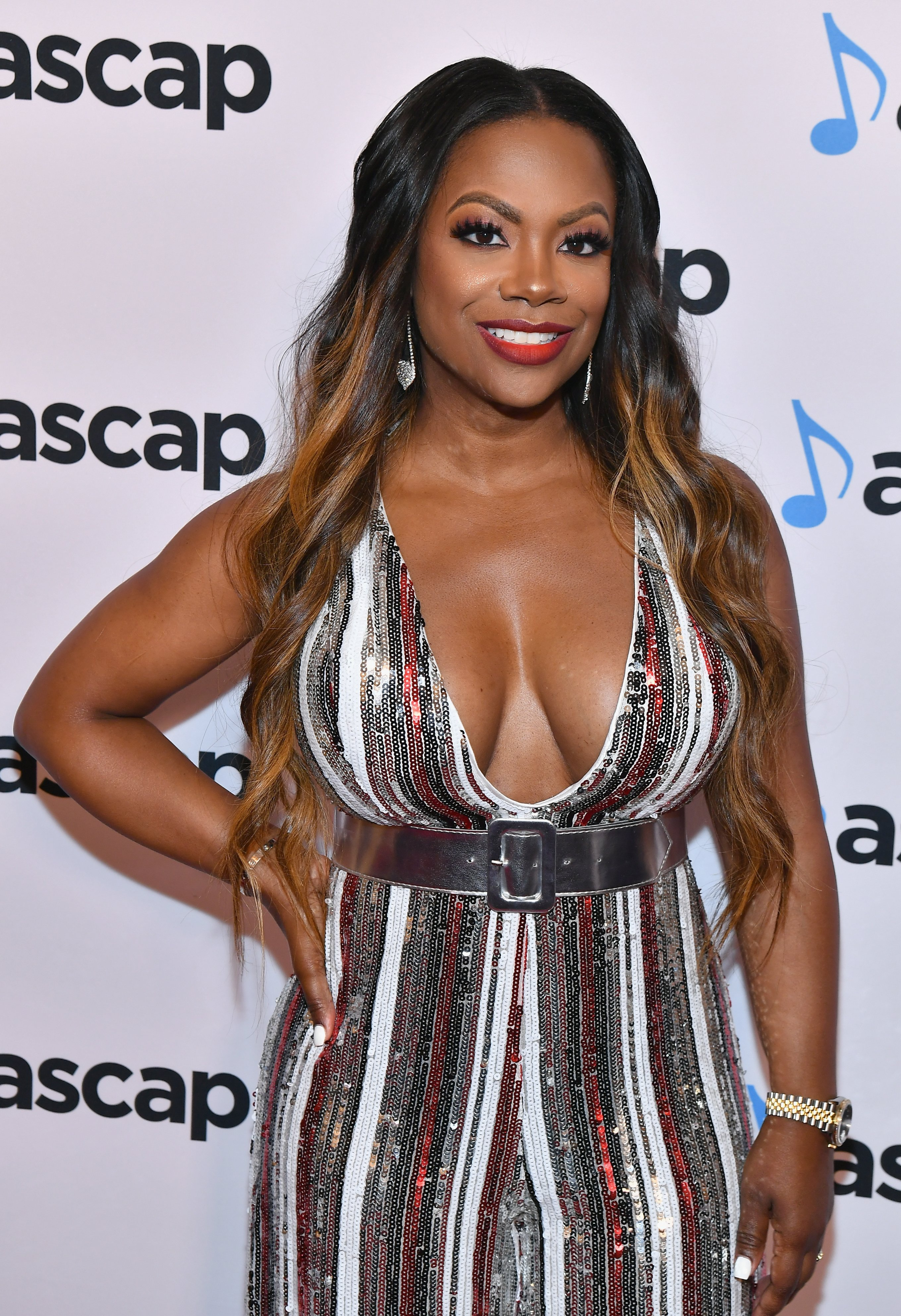 Kandi Burruss at the 31st ASCAP Rhythm & Soul Music Awards in Beverly Hills in June 2018. | Photo: Getty Images
