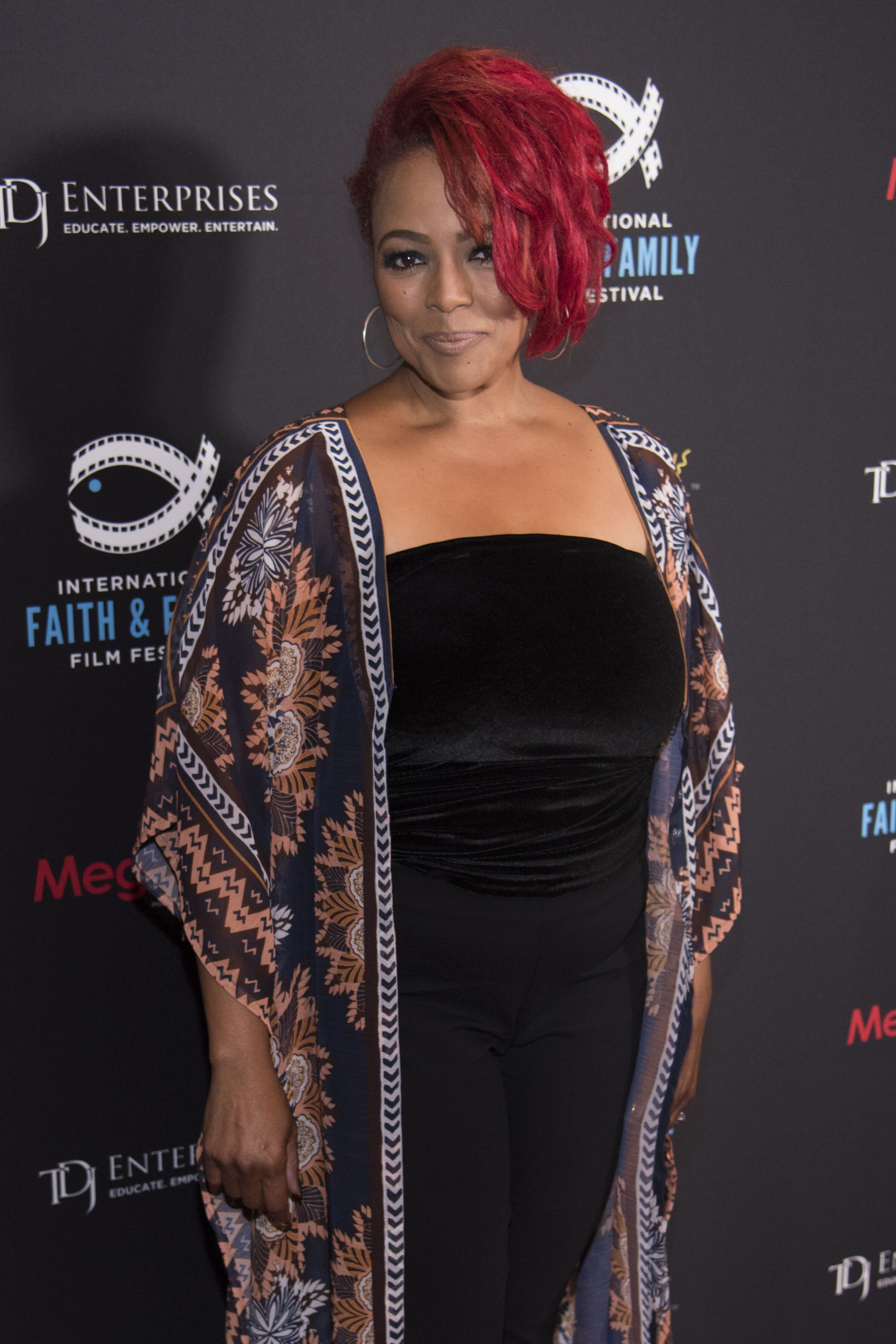 Kim Fields poses for a photo before a screening of 'A Question of Faith' during the MegaFest International Faith & Family Film Festival at Omni Hotel on July 1, 2017 | Photo: Getty Images