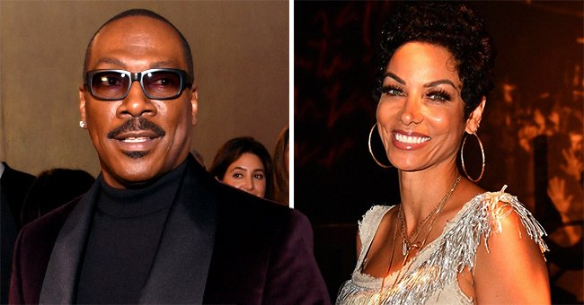 Eddie Murphy's Ex-wife Niki Looks Amazing at 52 in Dotted Turtle Neck and Skintight Leather Pants