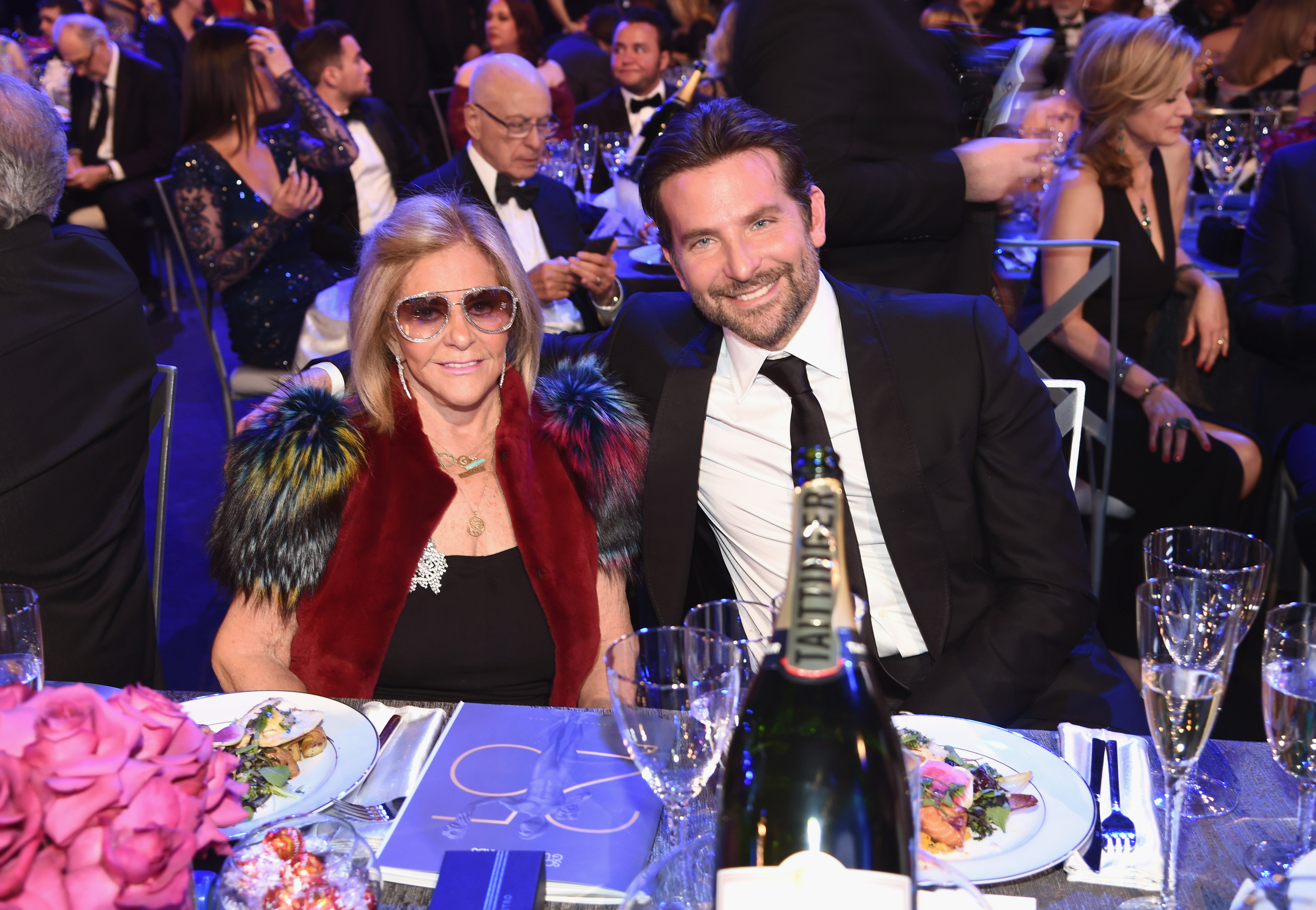 Bradley Cooper and Gloria Campano at 2019 Screen Actors Guild Awards | Photo: Getty Images