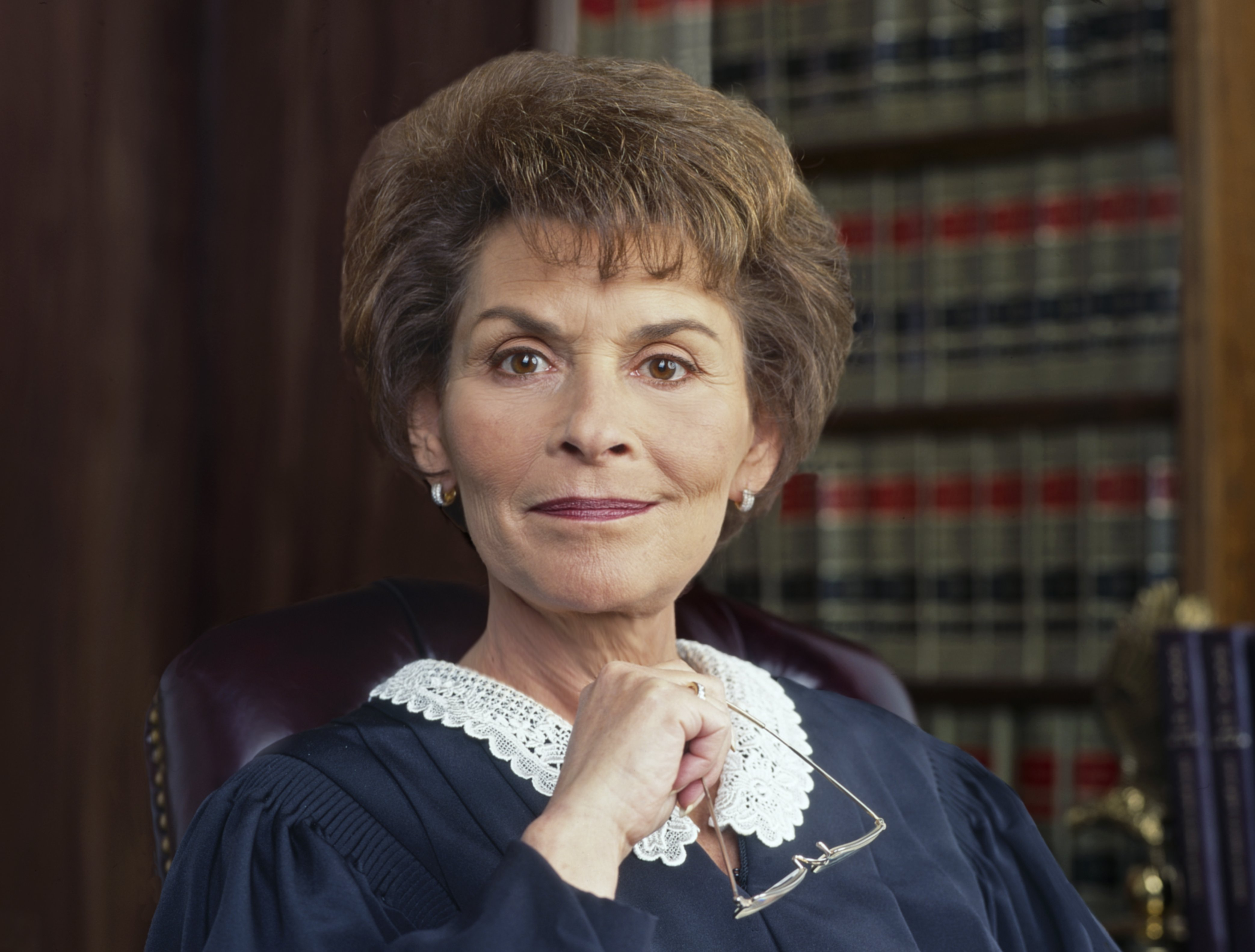 Cultural icon Judge Judy Sheindlin poses for a photo in December 1996 in Los Angeles, California   Photo: Getty Images