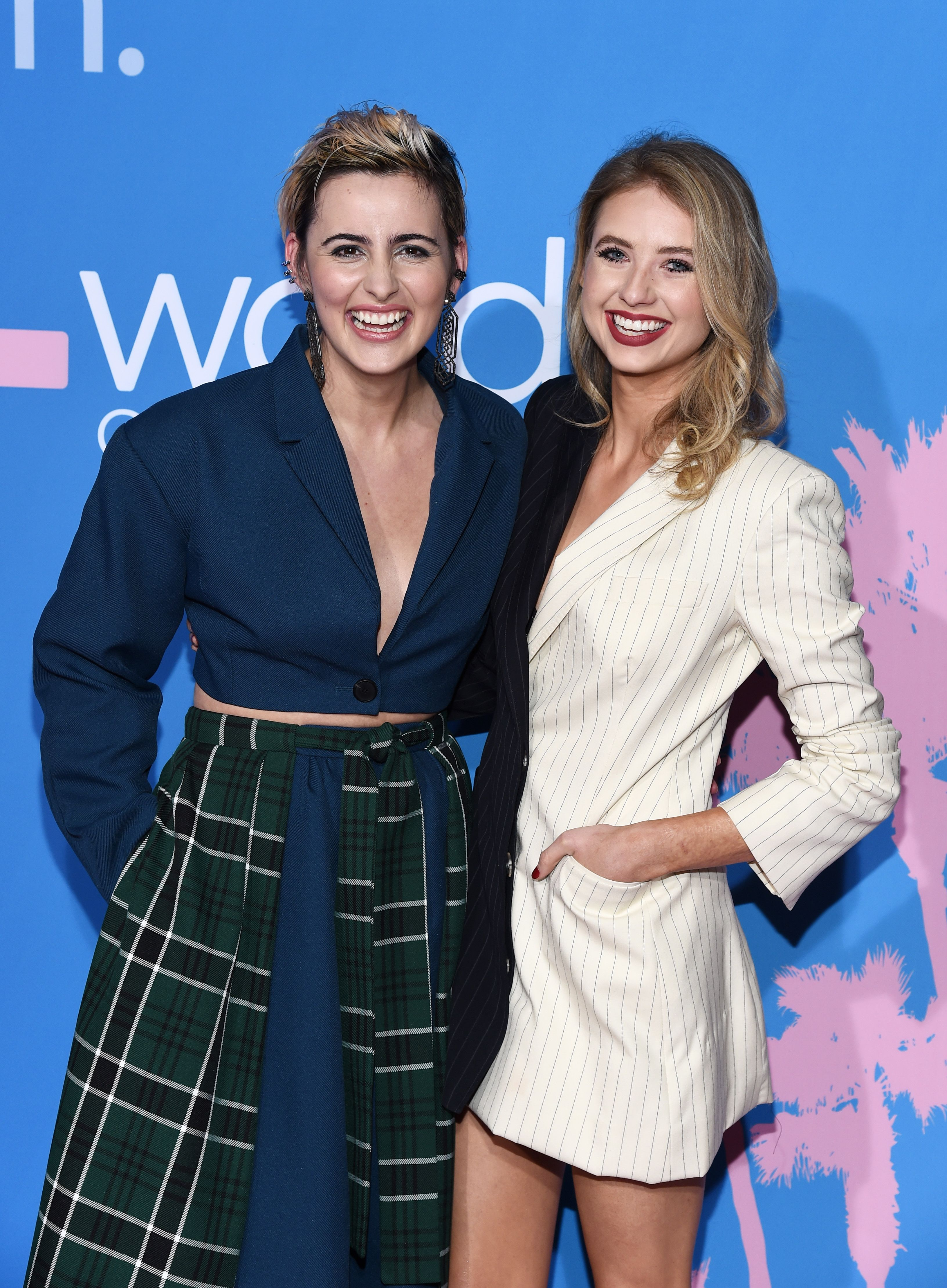 """Jacqueline Toboniand Kassandra Clementi at the premiere of""""The L Word: Generation Q""""on December 2, 2019, in Los Angeles, California   Photo:Amanda Edwards/WireImage/Getty Images"""