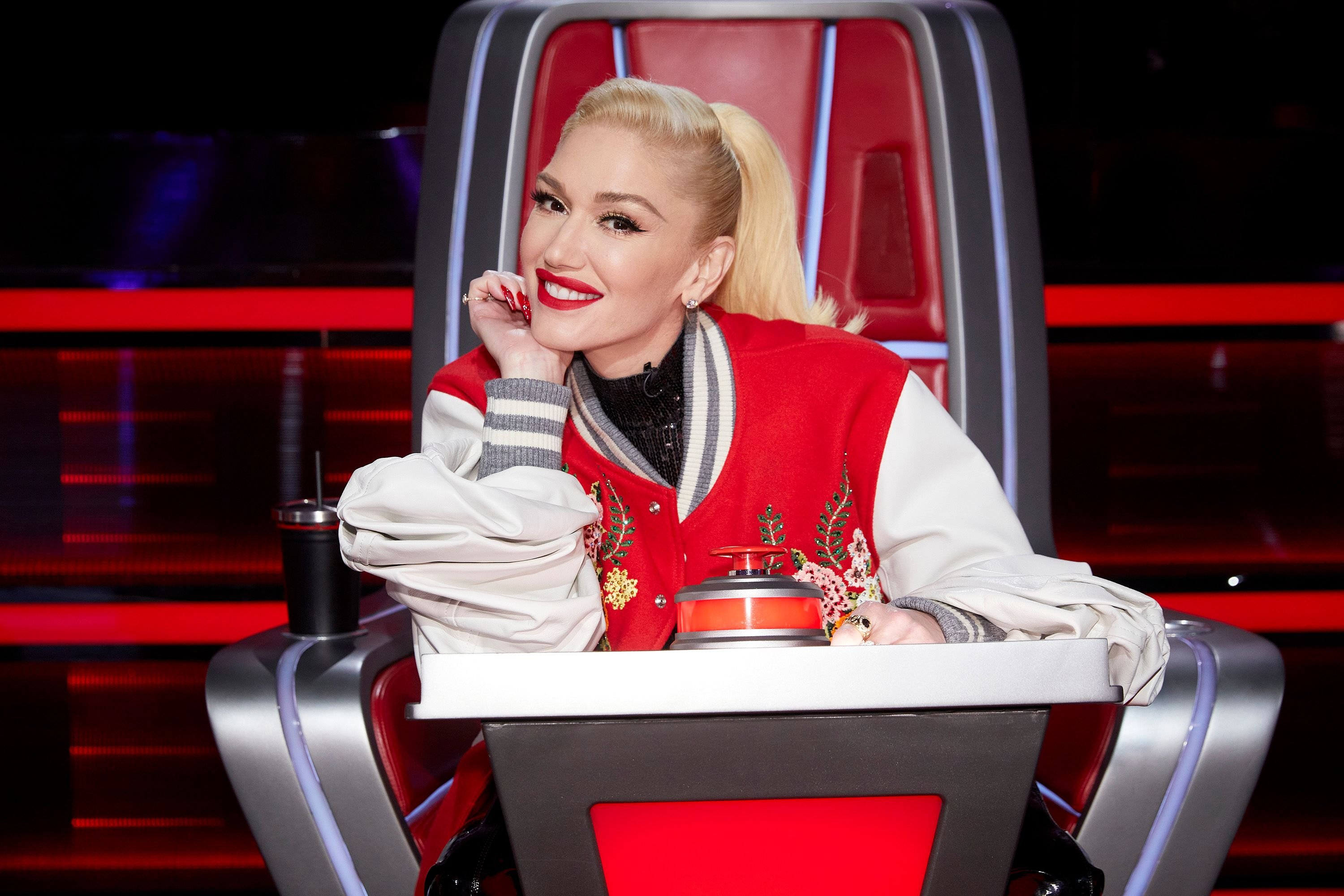 """Gwen Stefani on set for Season 19 of """"The Voice"""" 
