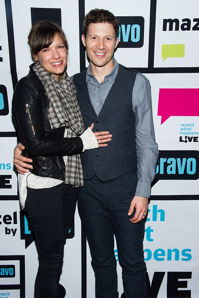 """Kiele Sanchez and Zach Gilford during an appearance on """"Watch What Happens Live"""" on  January 14, 2014   Photo: Getty Images"""