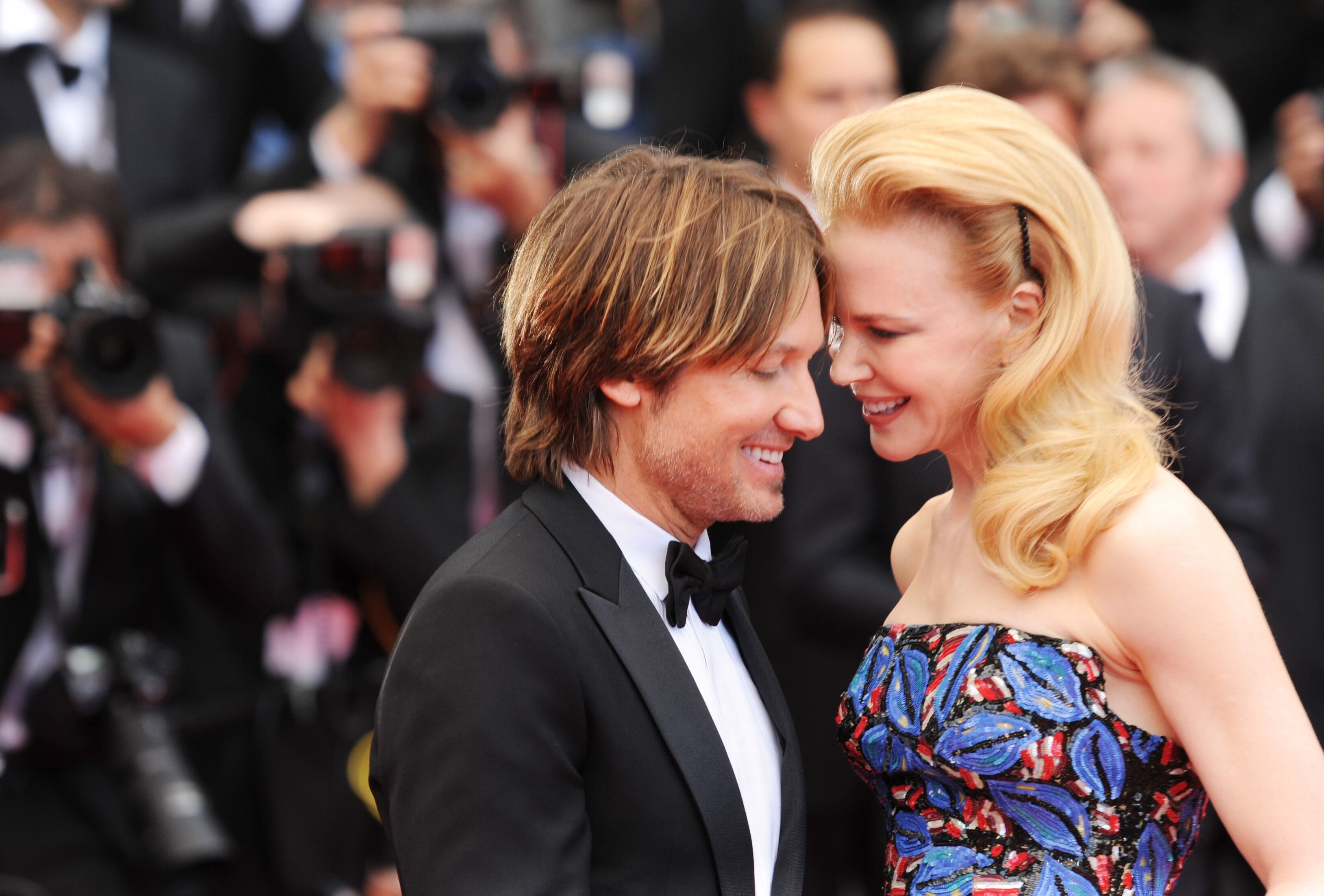 "Keith Urban and Nicole Kidman attend the ""Inside Llewyn Davis"" premiere. 