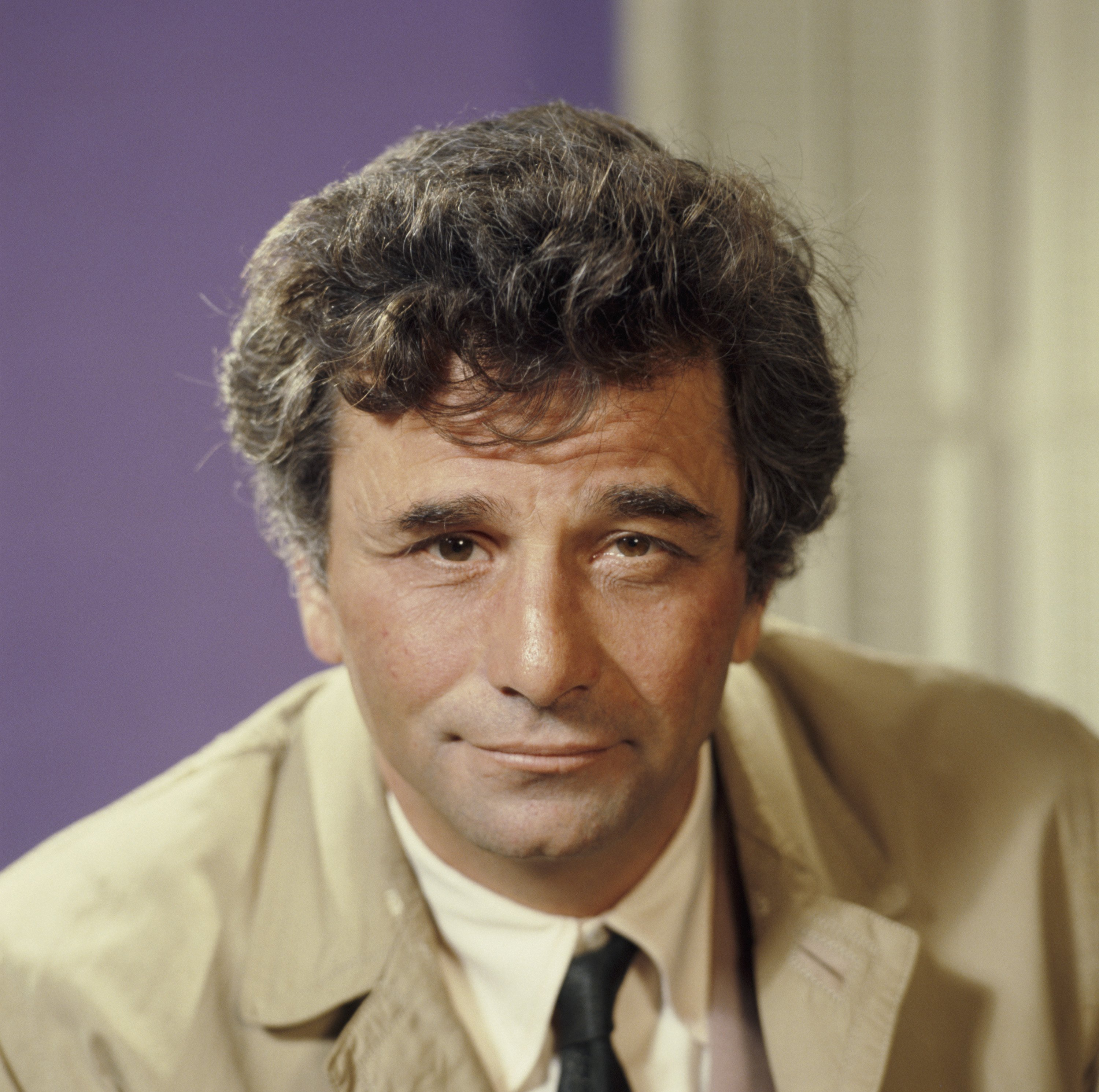 Veteran actor Peter Falk during his 1968 role as Lieutenant Columbo. | Photo: Getty Images