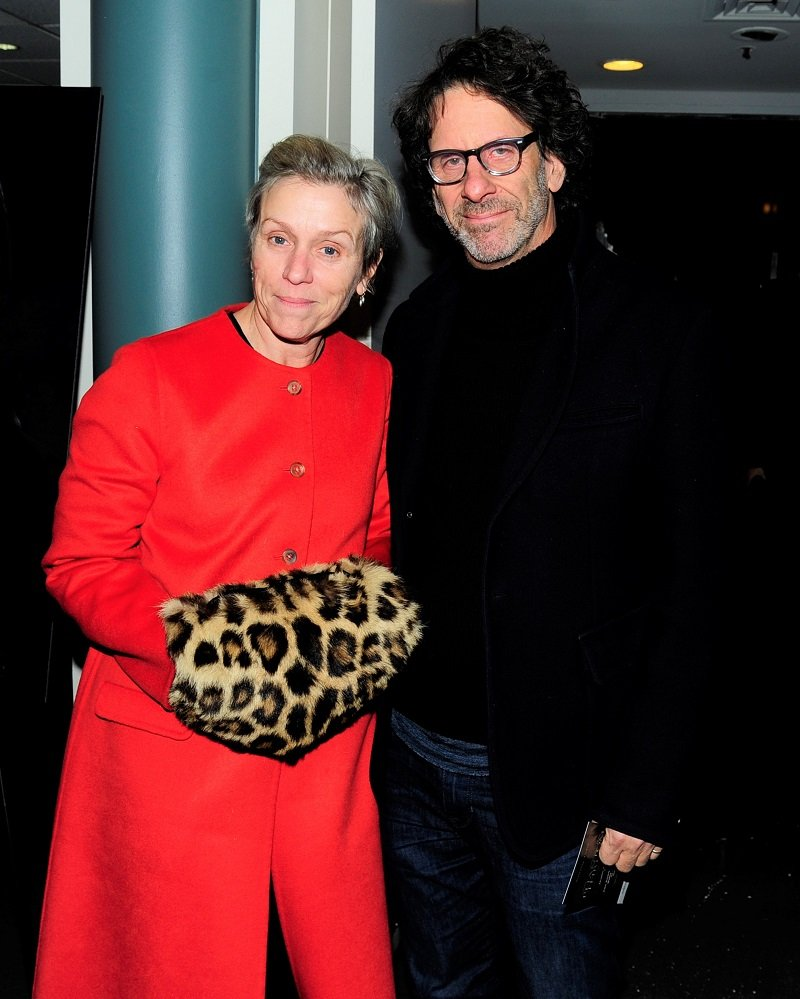 Frances McDormand and Joel Coen on December 11, 2017 in New York City | Photo: Getty Images