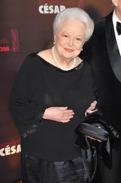 Olivia de Havilland, Cesar Film Awards 2011 | Quelle: Getty Images