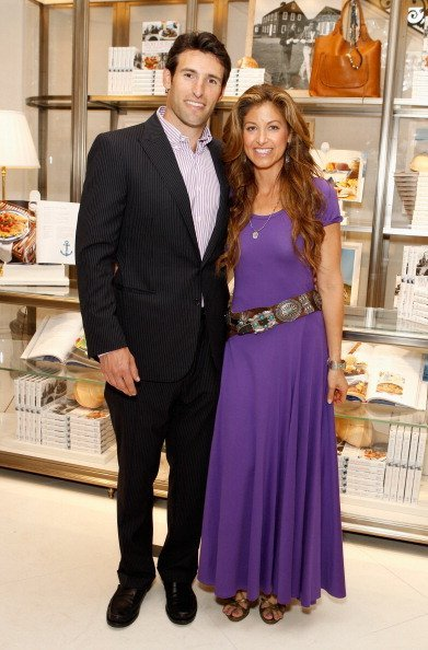 "Paul Arrouet (L) and Dylan Lauren attend the Ralph Lauren celebration for the publication of ""The Hamptons: Food, Family and History"" by Ricky Lauren at the Ralph Lauren Women's Boutique on May 22, 2012, in New York City. 