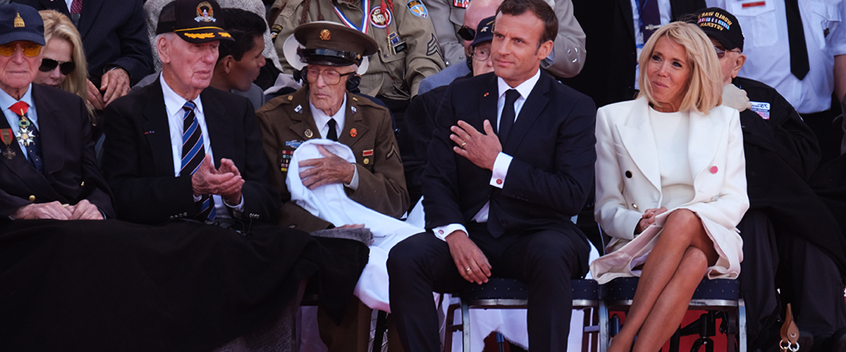 Pourquoi les jambes nues de Brigitte Macron sont un sujet sensible pour les médias anglais