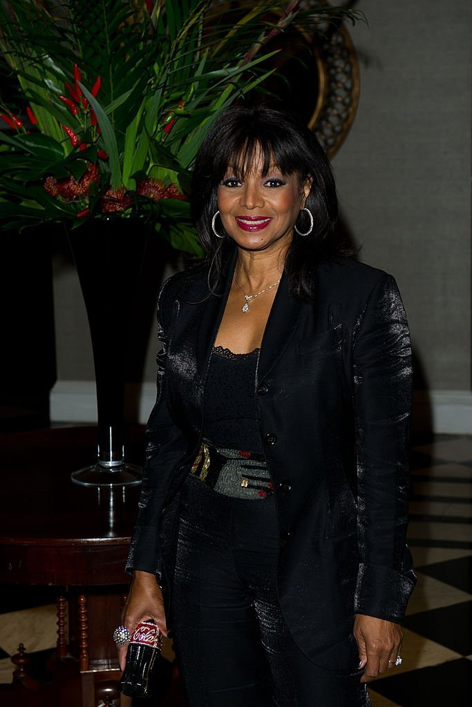 Rebbie Jackson arrives at the afterparty of 'Michael Jackson: The Life Of An Icon' at the Connaught Rooms in London, England | Photo: Getty Images