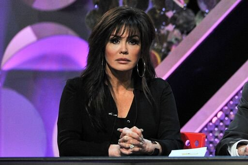 Marie Osmond speaks onstage at the 42nd Daytime Emmy Awards | Photo: Getty Images