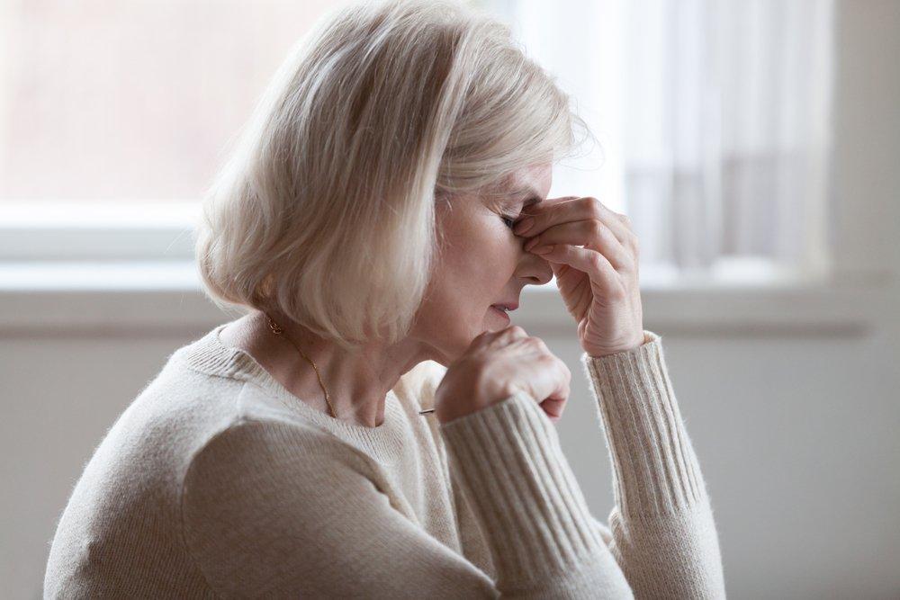 Müde Frau | Quelle: Shutterstock