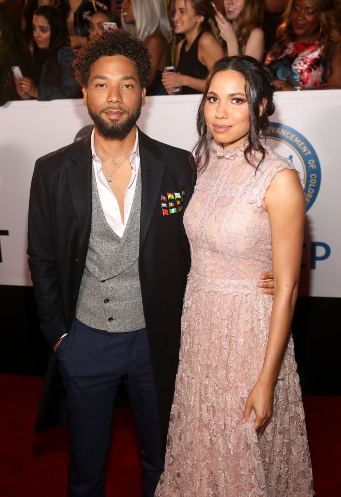 Jussie Smollett (L) and Jurnee Smollett-Bell attend the 49th NAACP Image Awards | Getty Images