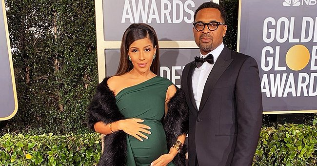 Mike Epps's Wife Kyra Shares New Photo with Newborn Daughter Indiana & Sweet Note