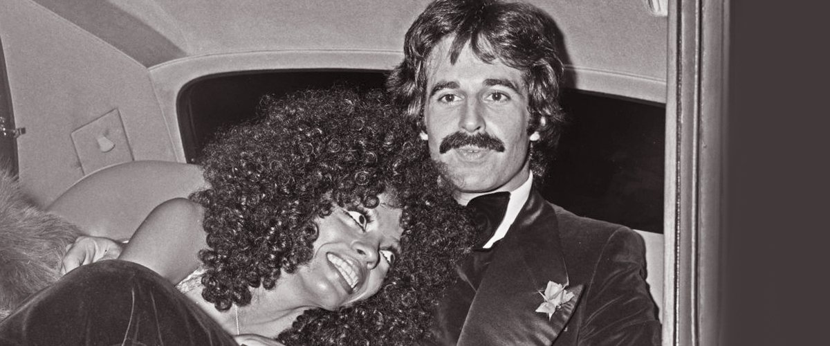 Diana Ross with her husband, music executive Robert Ellis Silberstein on the 24th of September 1973   Photo: Getty Images
