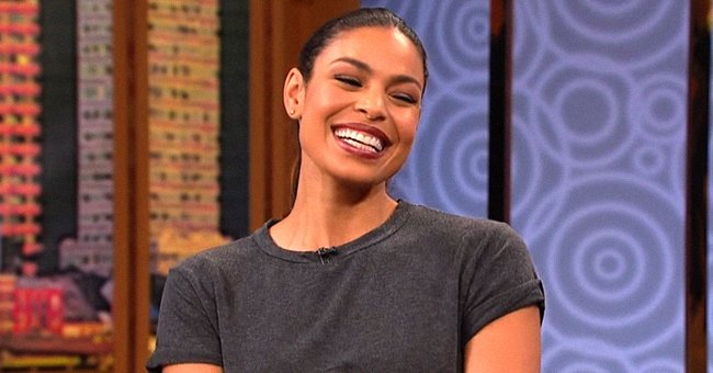 Jordin Sparks Smiles with Her Husband & Son While Making Similar Facial Expressions in Photos