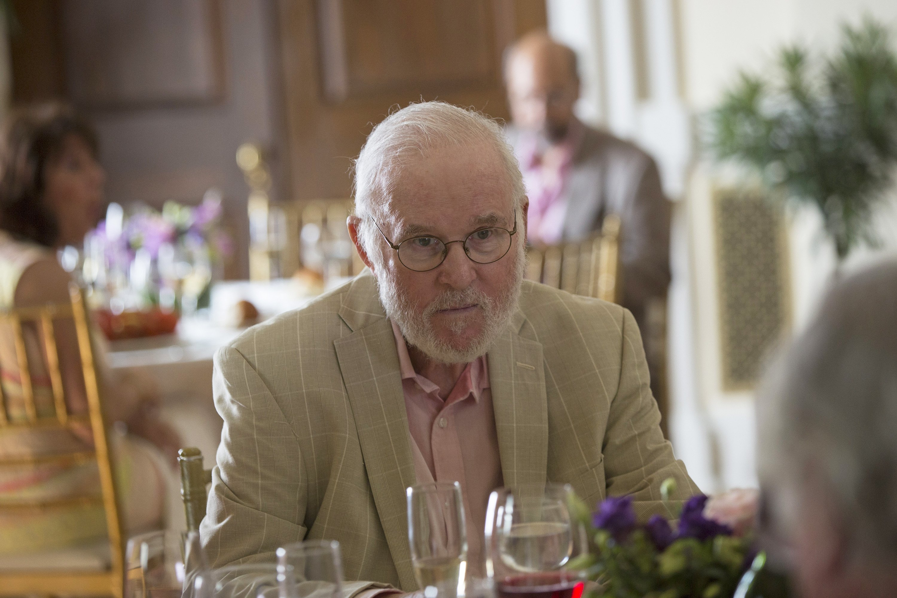 """Charles Grodin shows off acting prowess in the 2016 Disney-led mini television series, """"Madoff."""" 