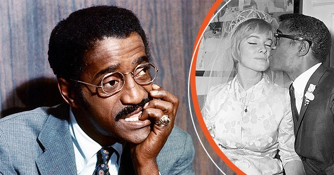 A picture of Sammy Davis Jr. and his wife, May Britt   Photo: Getty Images