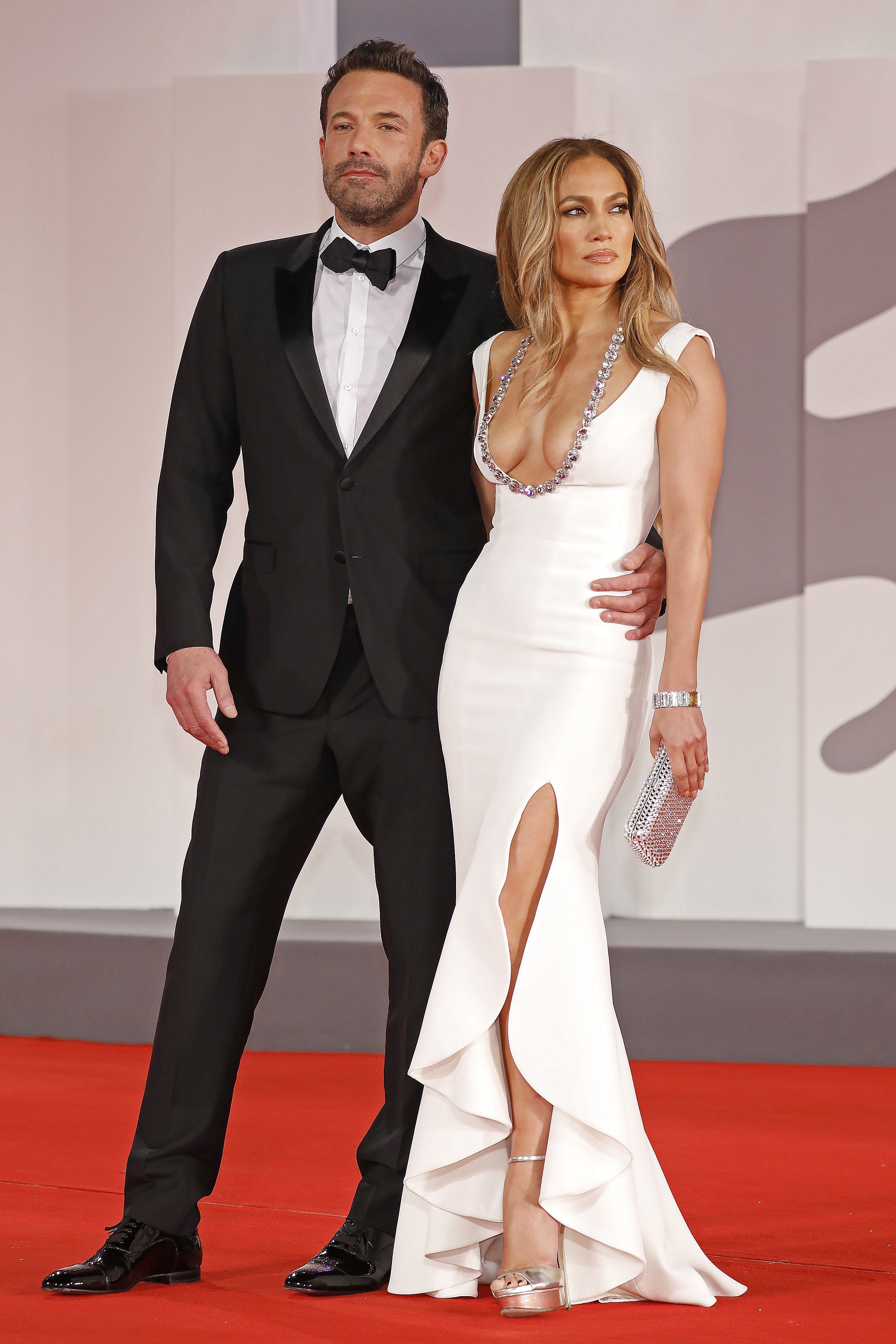 Ben Affleck and Jennifer Lopez on the red carpet for 'The Last Duel' during the 78th Venice International Film Festival in Venice, Italy | Photo: Lehman/Barcroft Media via Getty Images