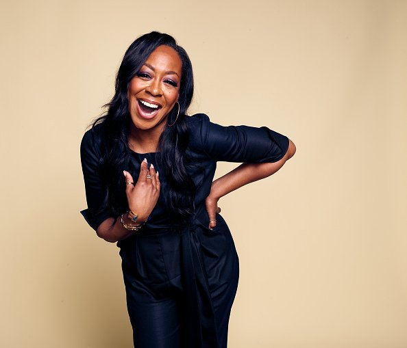 Tichina Arnold poses for a portrait at the 2019 Winter TCA Portrait Studio | Photo: Getty Images