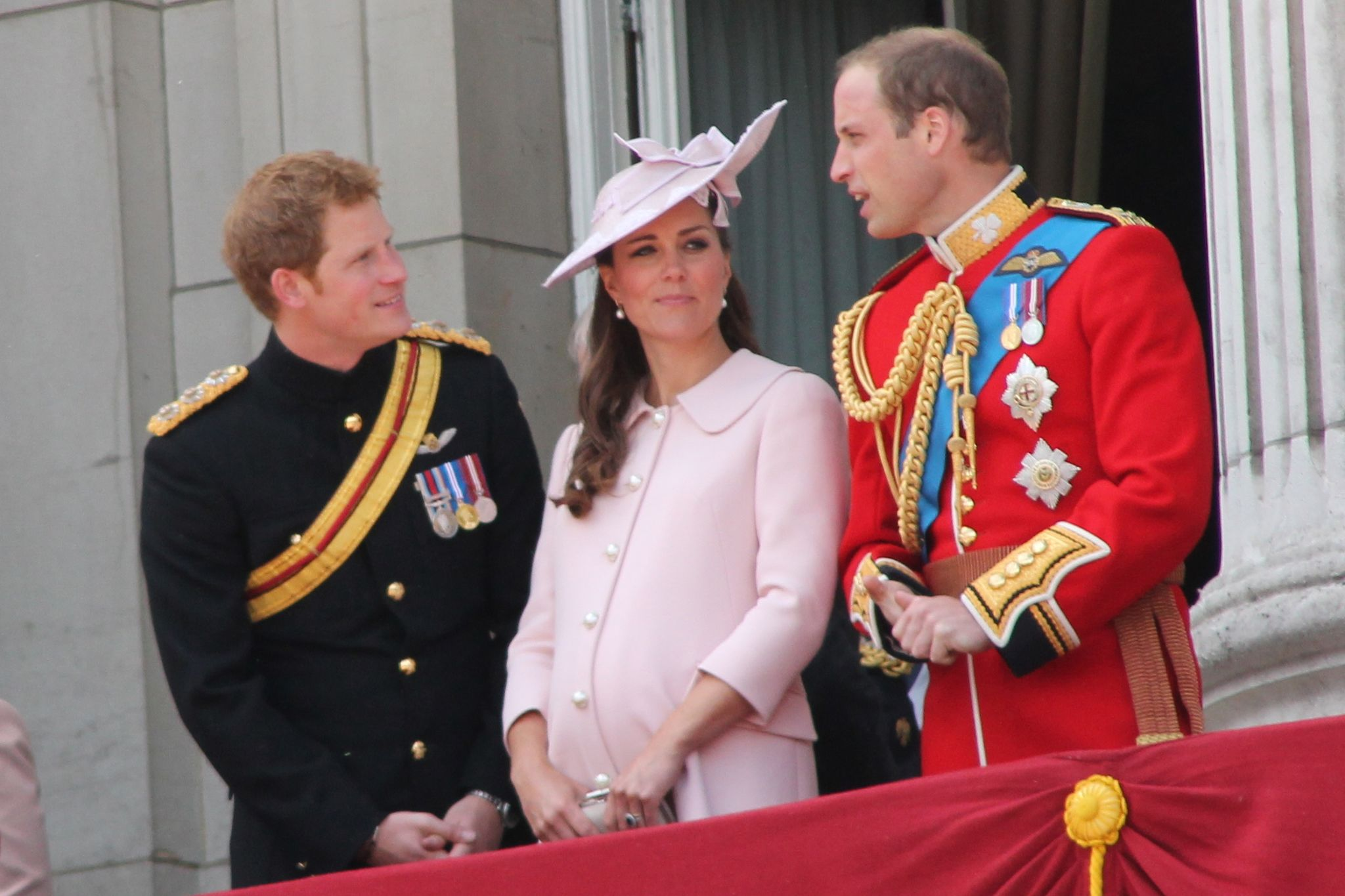 Duke and Duchess of Cambridge and Prince Harry | Source: Wikimedia Commons