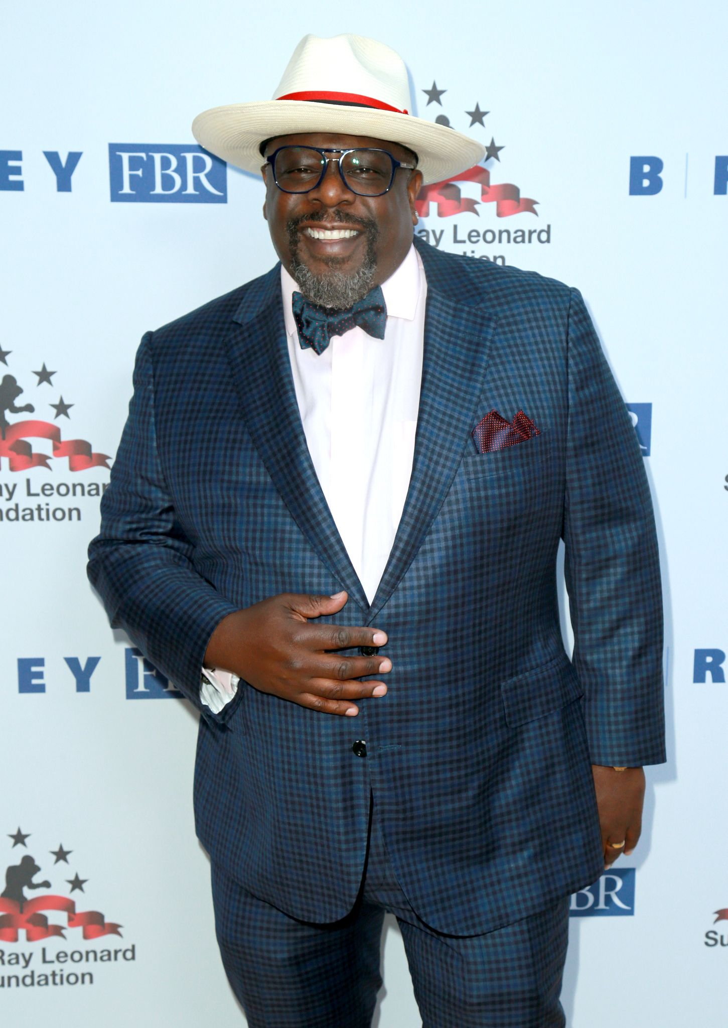 "Cedric the Entertainer at the Sugar Ray Leonard Foundation's 9th Annual ""Big Fighters, Big Cause"" Charity Boxing Night on May 23, 2018 in Santa Monica. 