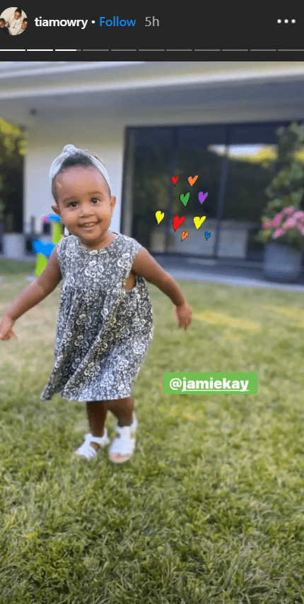Tia Mowry shares cute picture of her daughter | Photo: Instagram/tiamowry