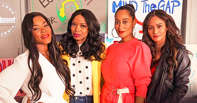 Actress Tracee Ellis Ross Reunites with 'Girlfriends' Co-Stars as Guest Cast on 'Black-ish'