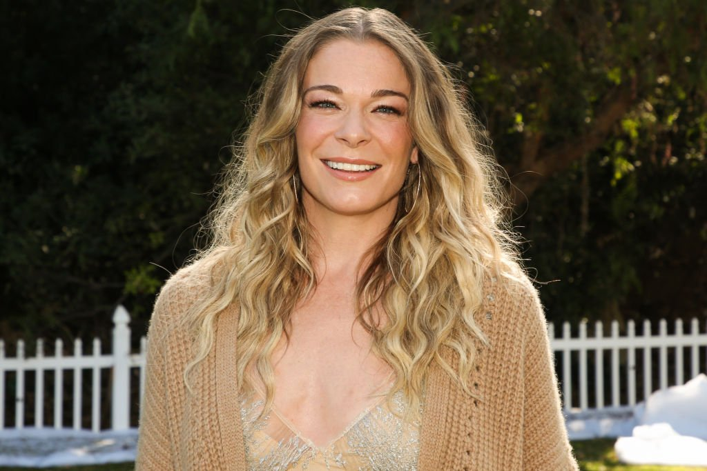 """Singer / Actress LeAnn Rimes at Hallmark Channel's """"Home & Family"""" at Universal Studios Hollywood on November 12, 2020 