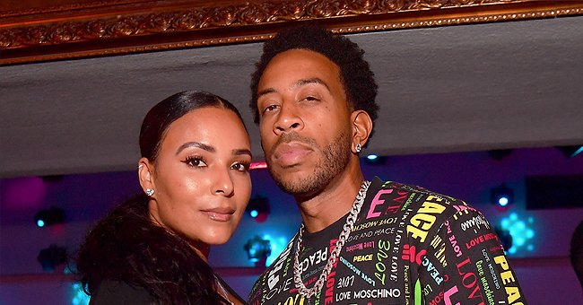 See Ludacris' Wife's Flashback Photos from Gabon Showing Her Enviable Body in a Black Swimsuit