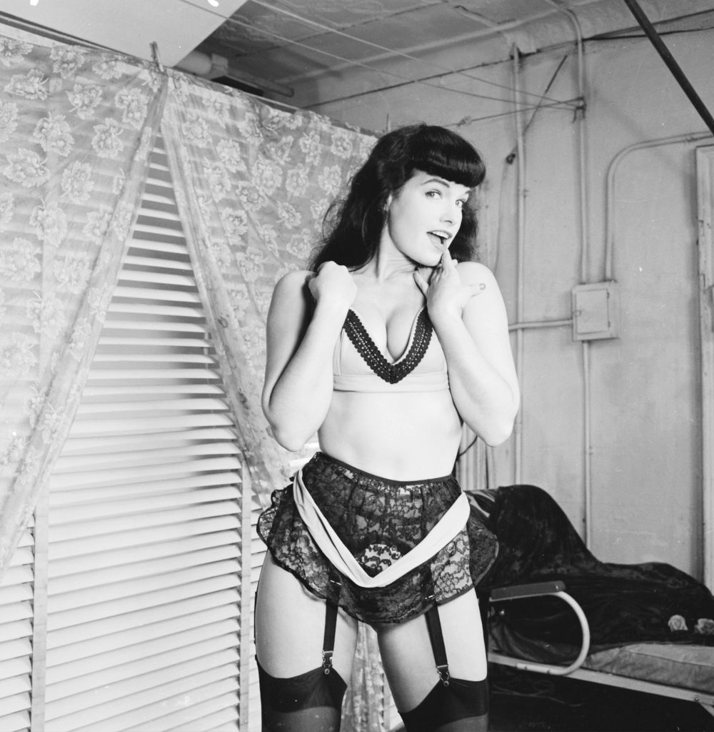 La pin-up Bettie Page. l Photo : Getty Images