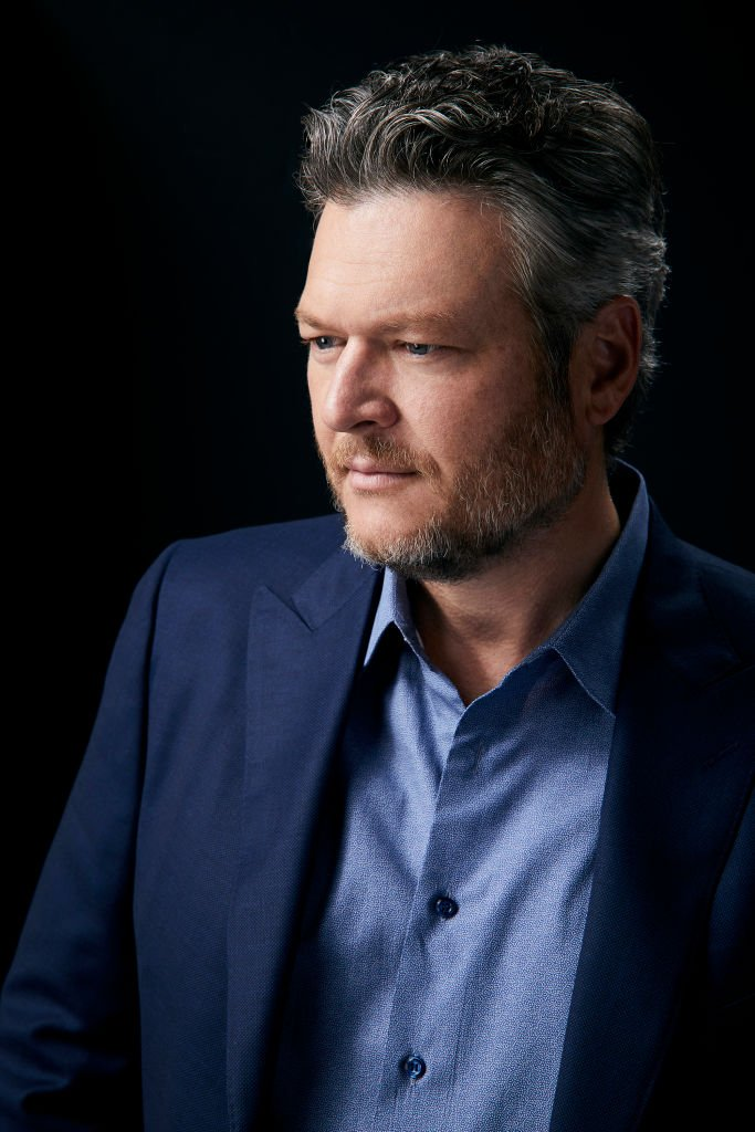 "Portrait of Blake Shelton for season 17 of ""The Voice"" in June 2019 