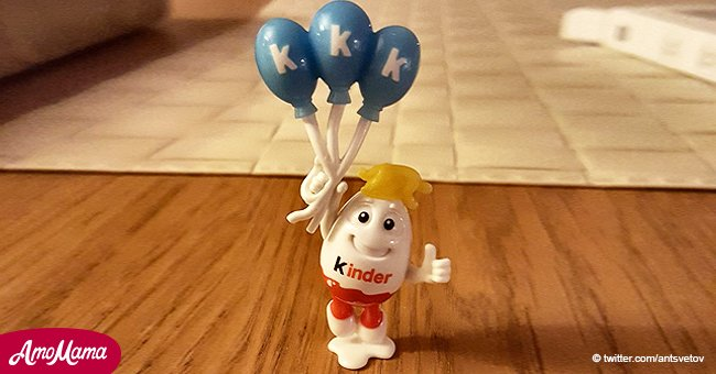 Parents outraged as kids get Kinder Surprise toy with 'Donald Trump hair and KKK balloons'