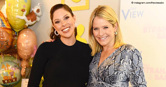 Sara Haines Flaunts Her Baby Bump at 'The View' Baby Shower That Was Hosted with 'Tons of Love'