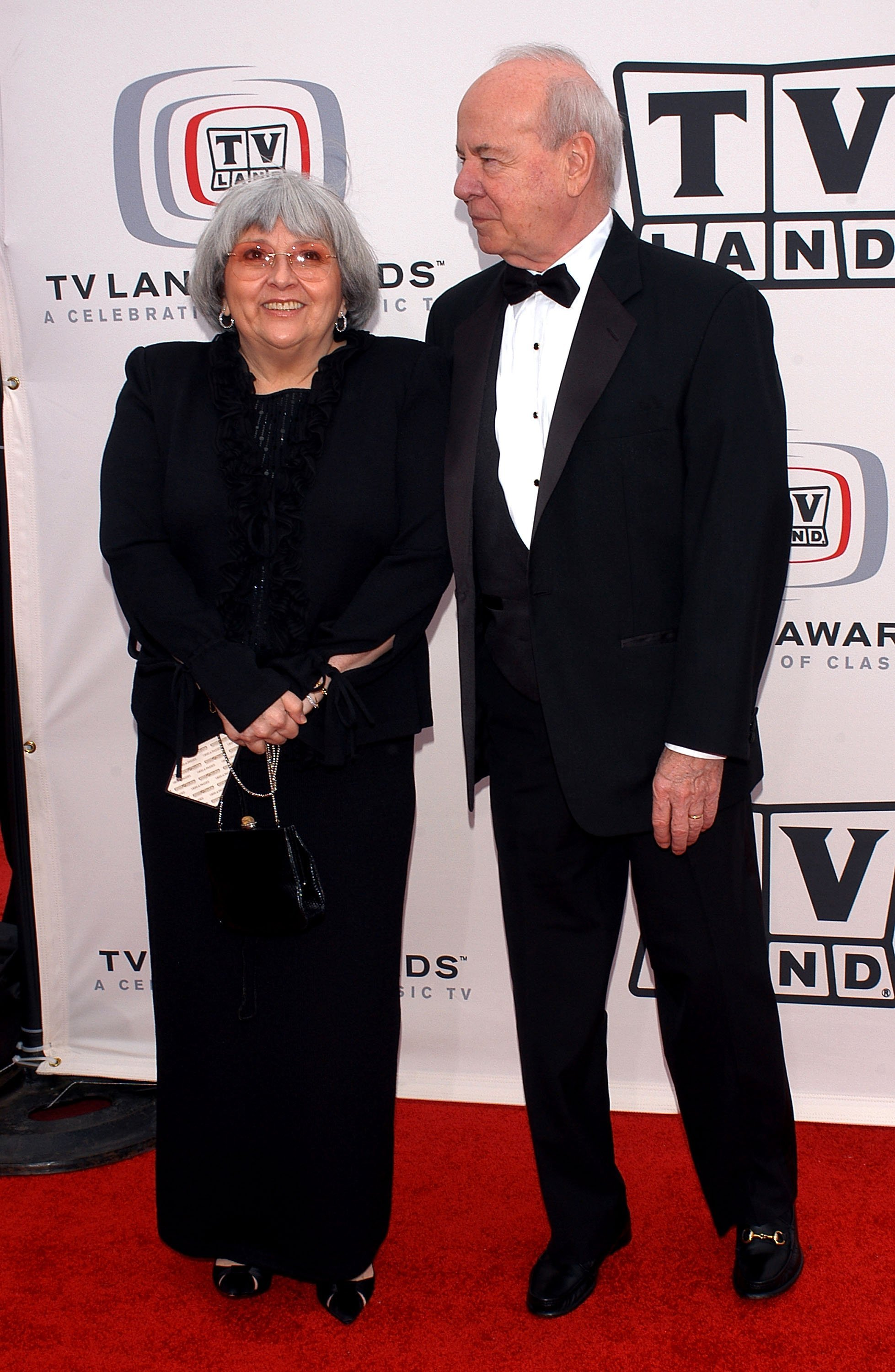 Tim Conway and his wife Charlene on March 13, 2005, in Santa Monica, California. | Source: Getty Images.