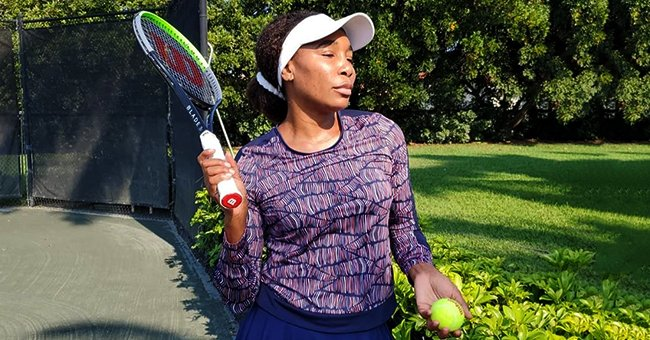 Serena Williams' Sister Venus Puts Curves on Display in Tight Gray Sportswear