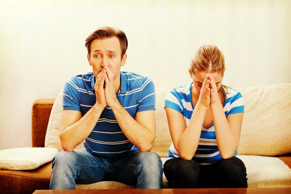 The doctor sent the married couple home, and they waited days worrying about the test results.   Photo: Shutterstock