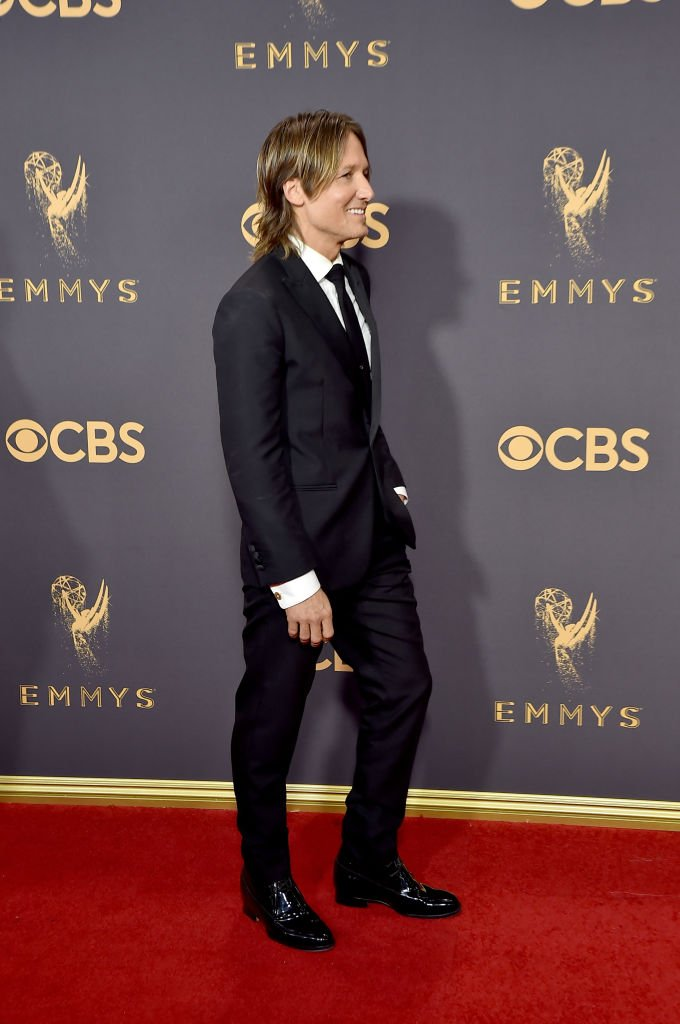 Keith Urban at the 69th annual Primetime Emmy Awards on September 17, 2017 in Los Angeles | Source: Getty images