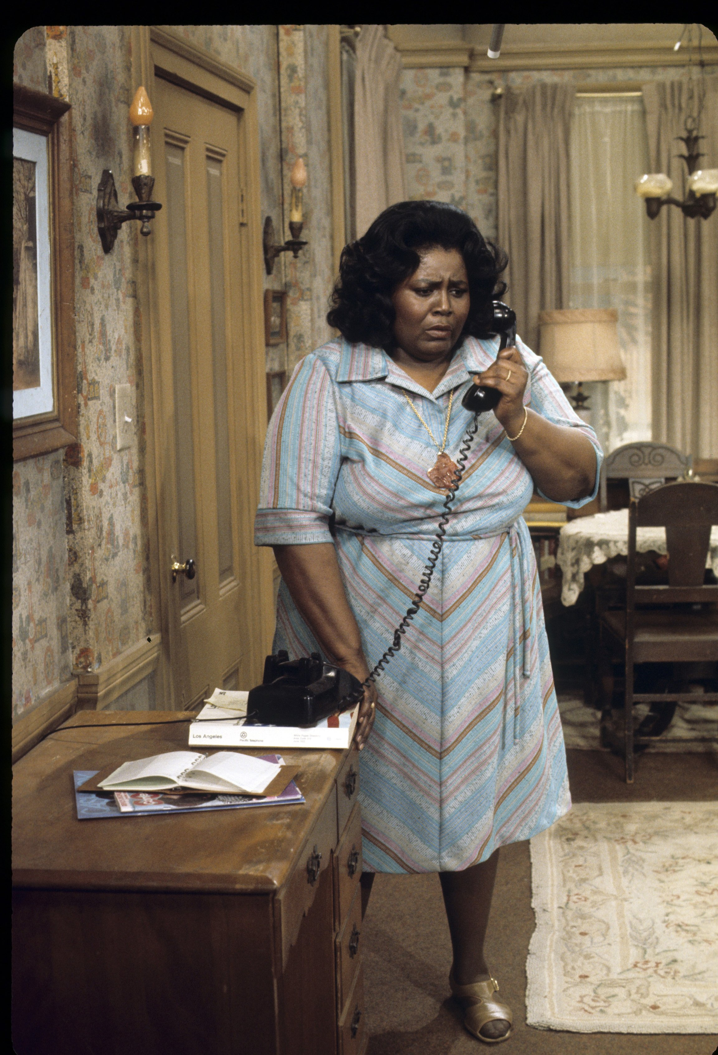 """Mabel King as Mama Thomas in """"What's Happening?"""". 
