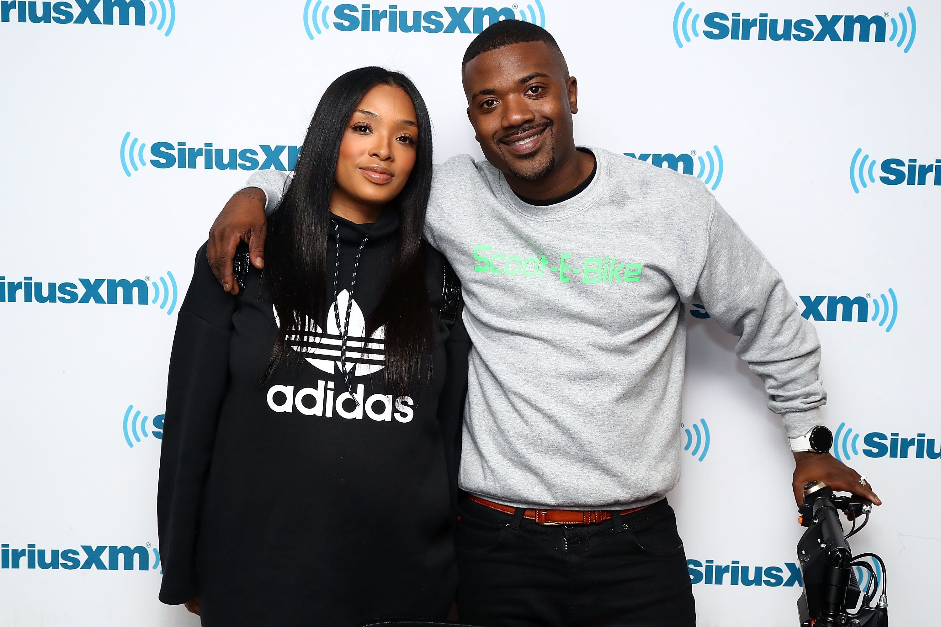 Princess Love and Ray J at the SiriusXM Studios on March 29, 2018 | Photo: Getty Images