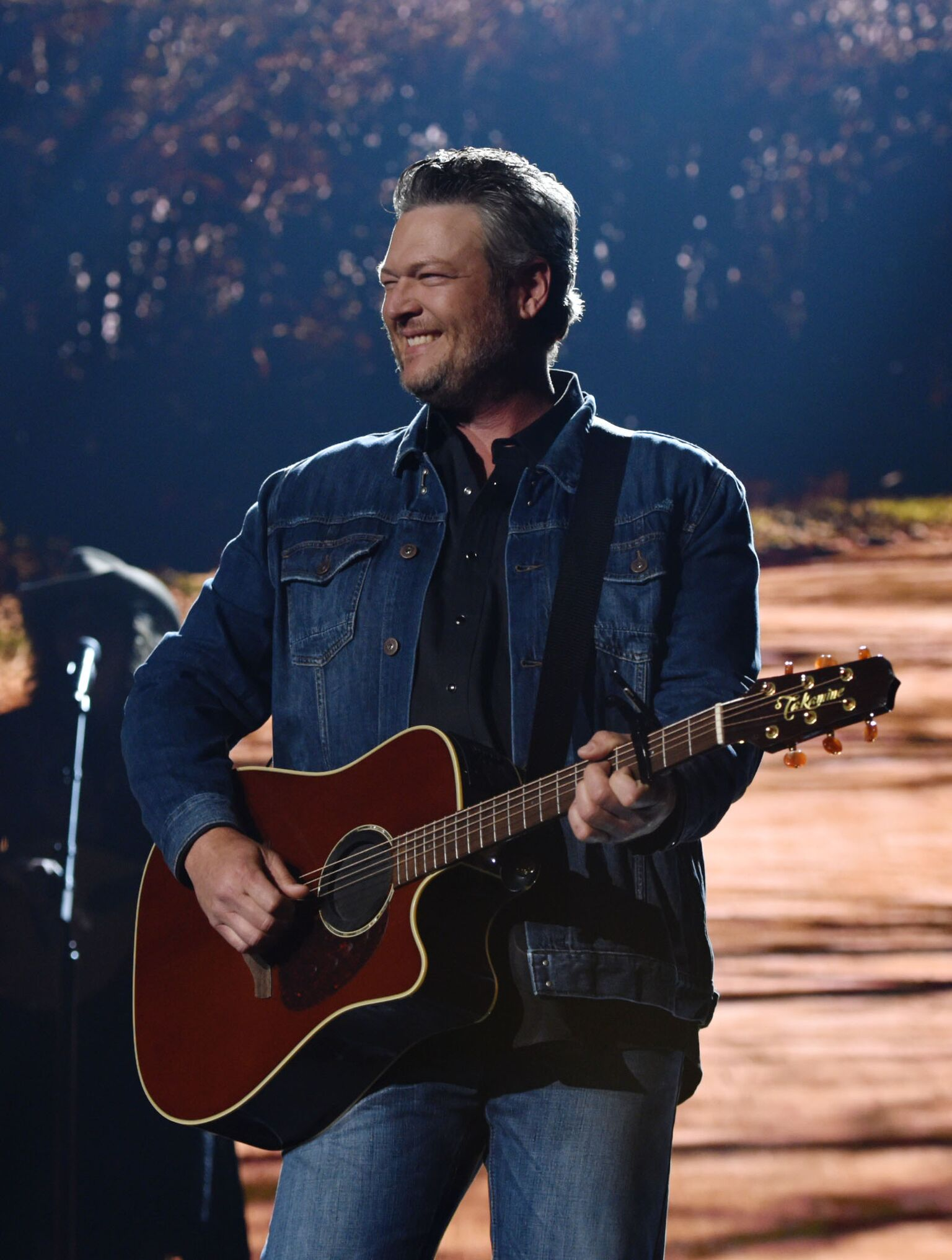 Blake Shelton performs onstage during the 54th Academy Of Country Music Awards | Getty Images