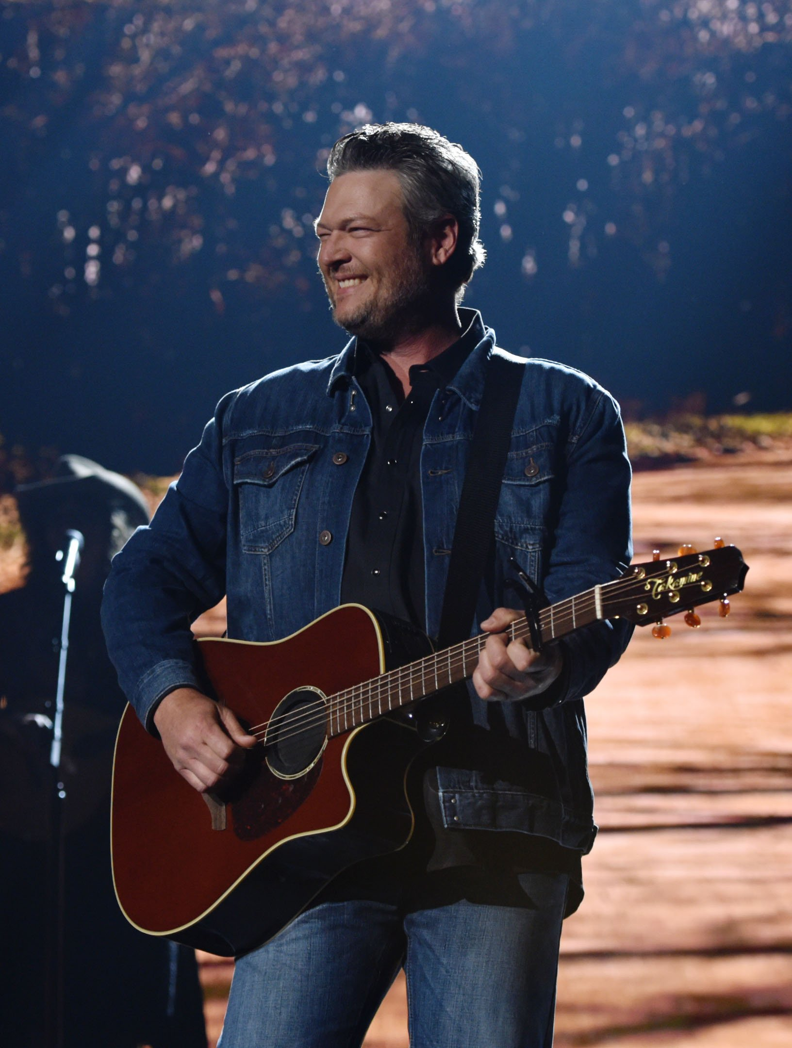 Blake Shelton performs onstage during the 54th Academy Of Country Music Awards at MGM Grand Garden Arena on April 07, 2019, in Las Vegas, Nevada | Photo: Getty images