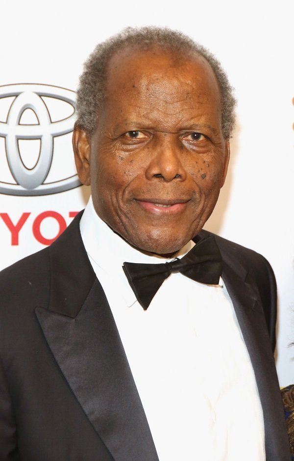 Sidney Poitier on November 14, 2014 in Beverly Hills, California | Source: Getty Images