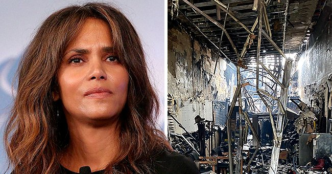 Halle Berry Urges Fans to Donate to Immigrant Store Owner Who Lost His Shop Amid Protests