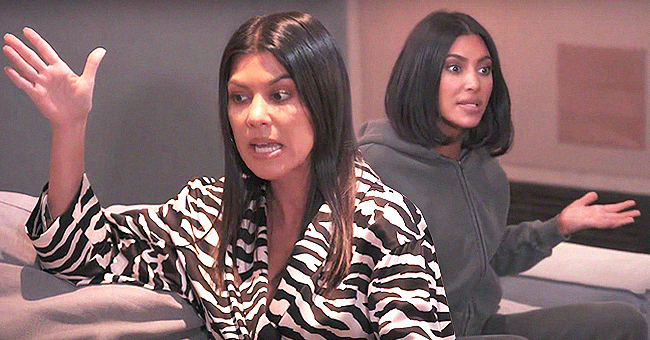Watch Kim & Kourtney Kardashian Argue over Candy for Daughters' Joint Birthday Bash