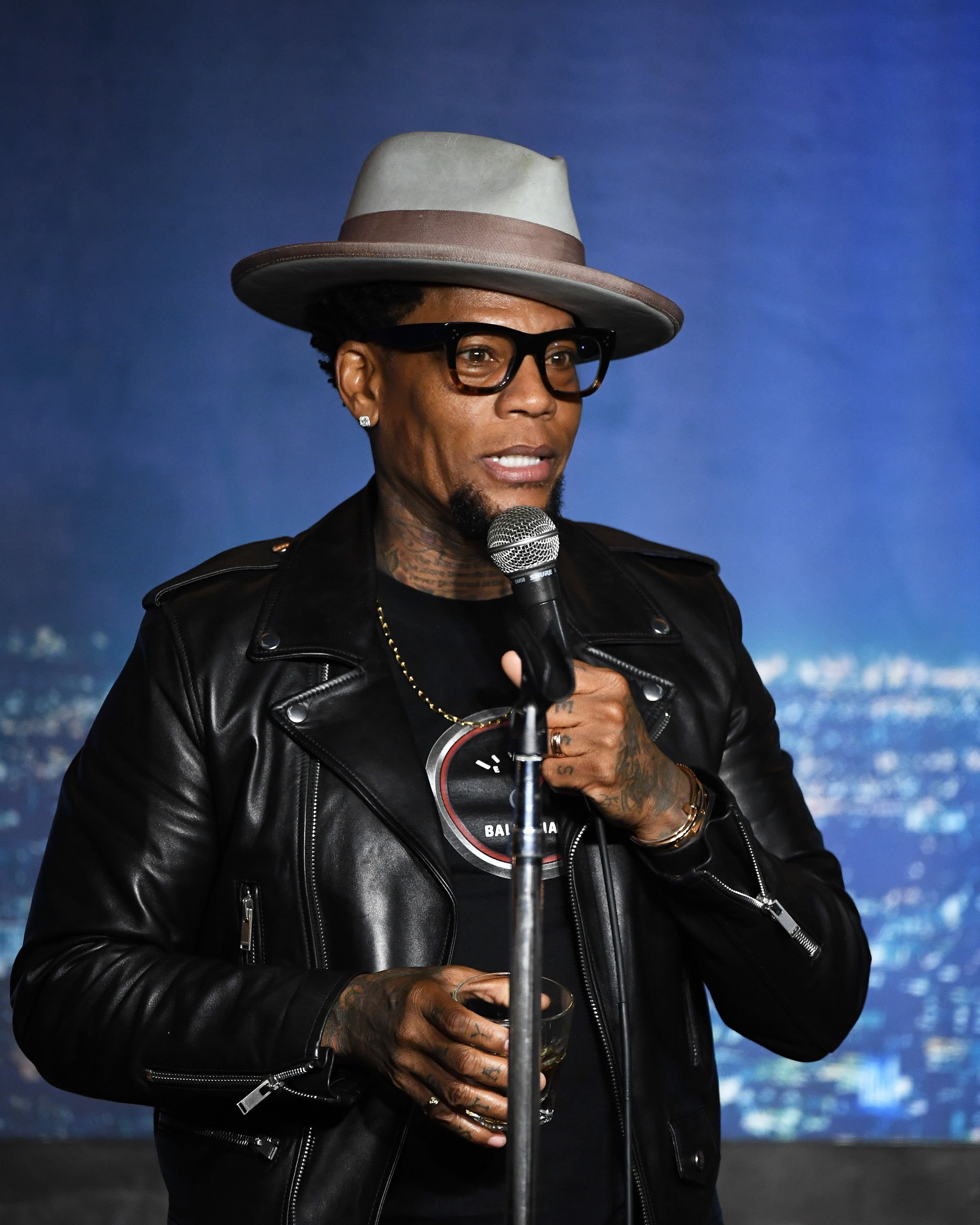 D.L. Hughley during his performance at The Ice House Comedy Club on February 29, 2020 in Pasadena, California. | Source: Getty Images